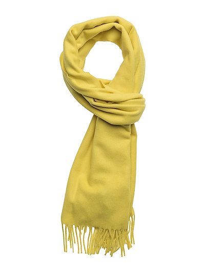 Accola maxi scarf 2862 - BLAZING YELLOW