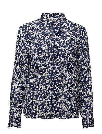 Milly shirt aop 7201 - DAISY BLUE