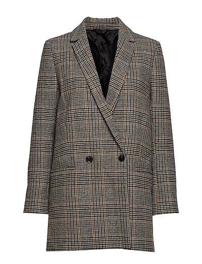 Ditte jacket 10153 - CARAMEL CHECK