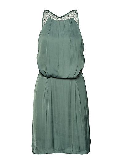 Willow s dress 10284 - DUCK GREEN