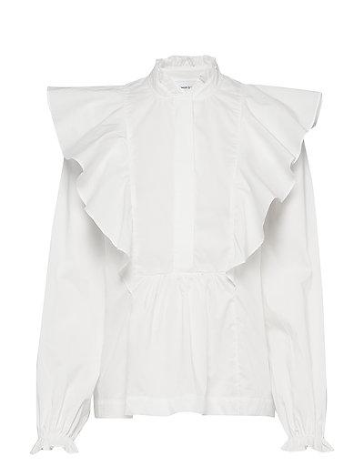 Martha Shirt 10451 (Clear Cream) (59.40 €) - Samsøe Samsøe -  | Boozt.com