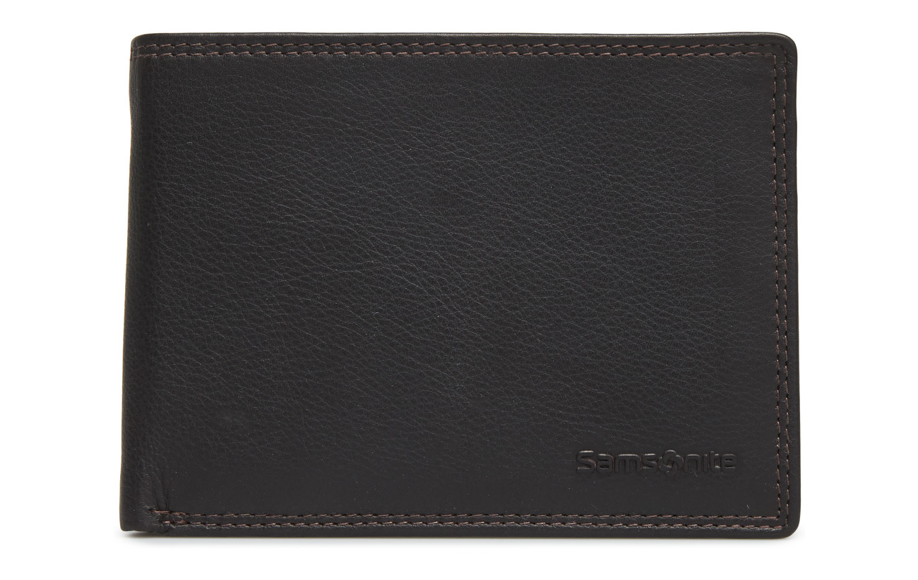 Samsonite Attack SLG Billfold 7Cc - DARK BROWN