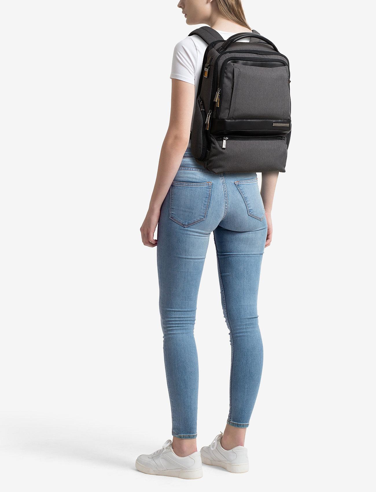 "Samsonite Check Mate Laptop Backpack 15.6"" Double"
