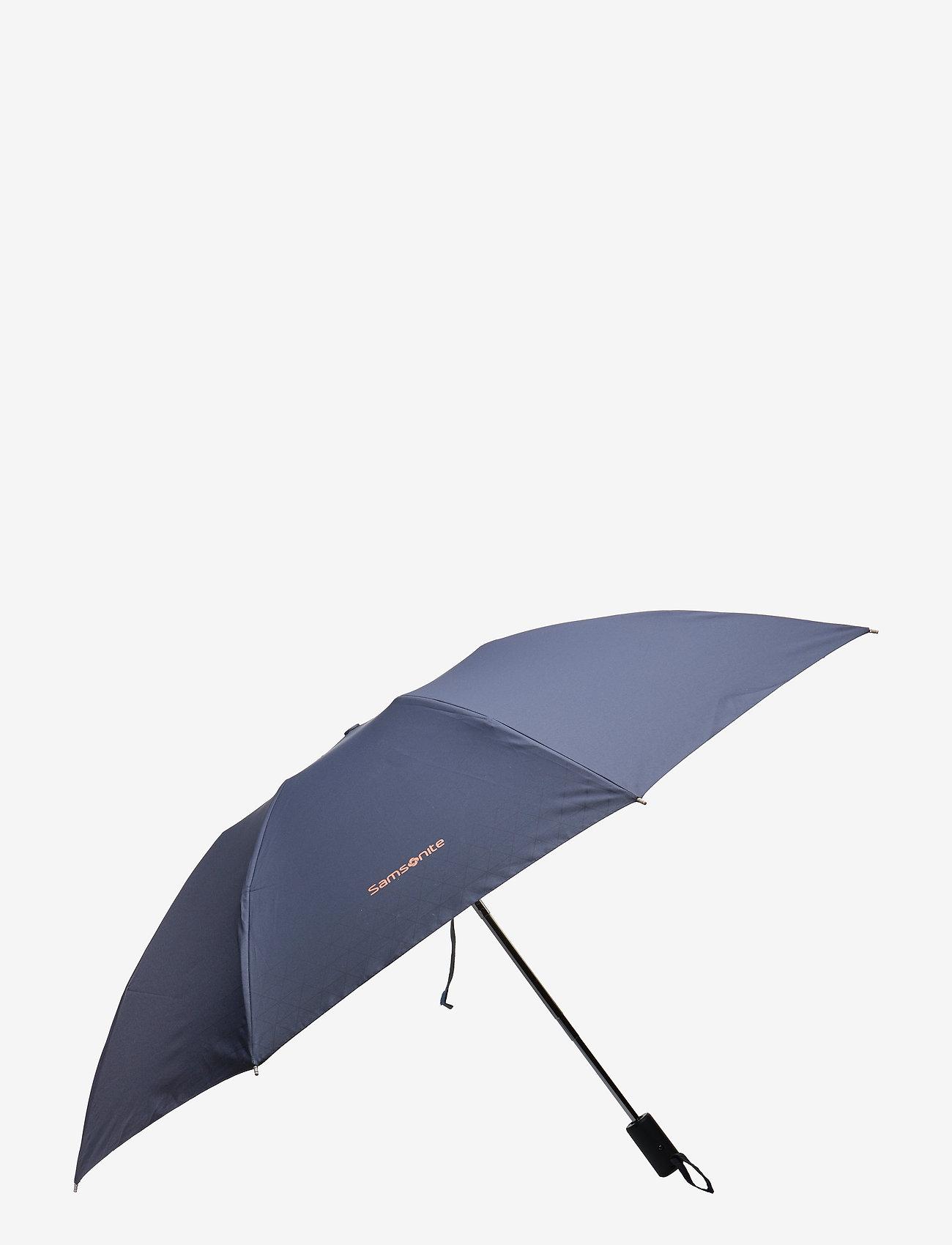 Samsonite - Upway Auto - paraplyer - dark blue/mandarin orange - 0