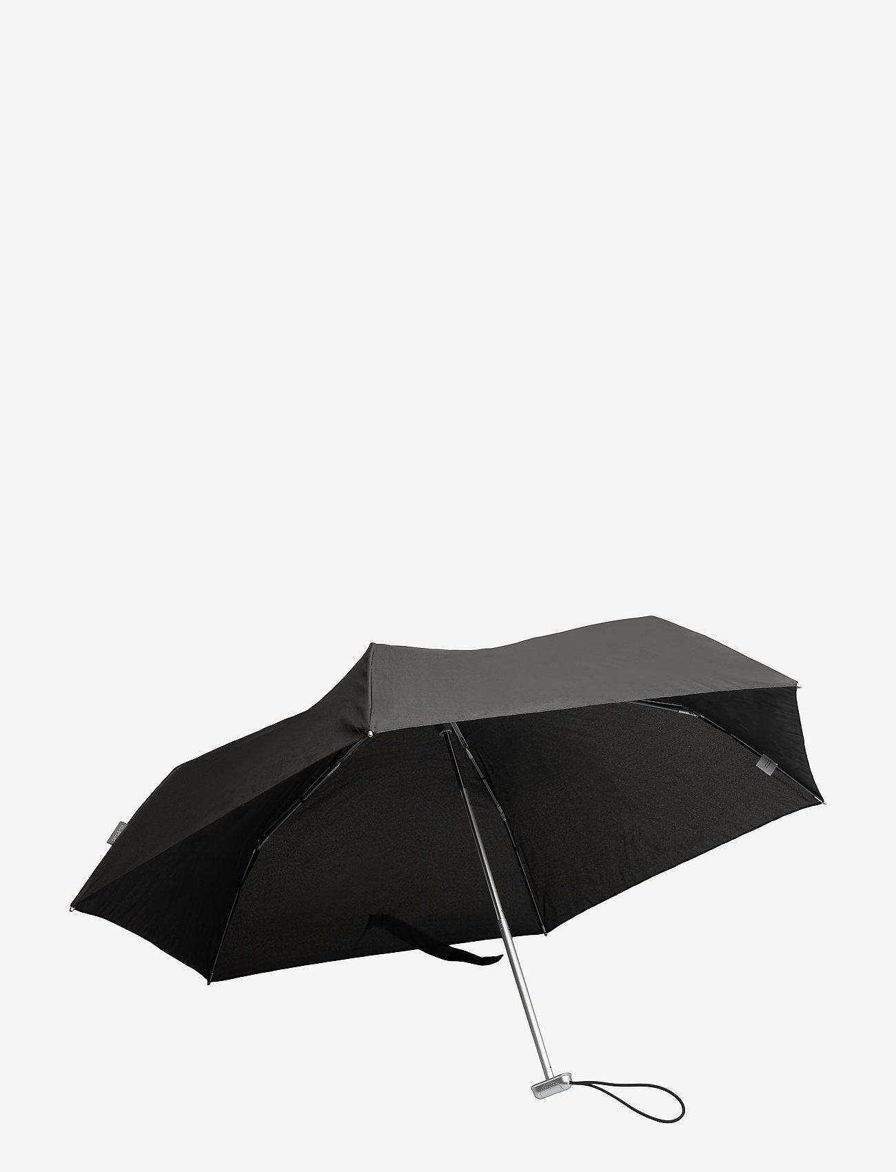 Samsonite - Alu Drop S 3 Sect. Manual Flat - paraplyer - black - 1