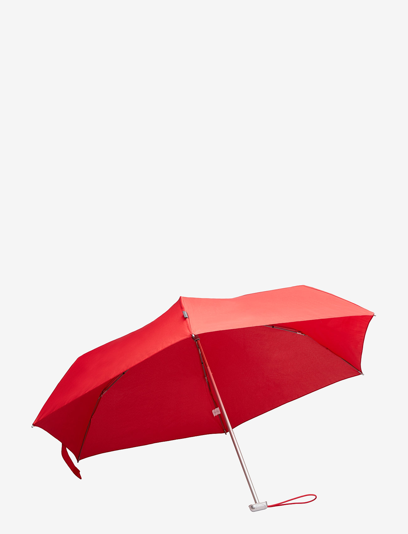 Samsonite - Alu Drop S 3 Sect. Manual Flat - paraplyer - tomato - 1