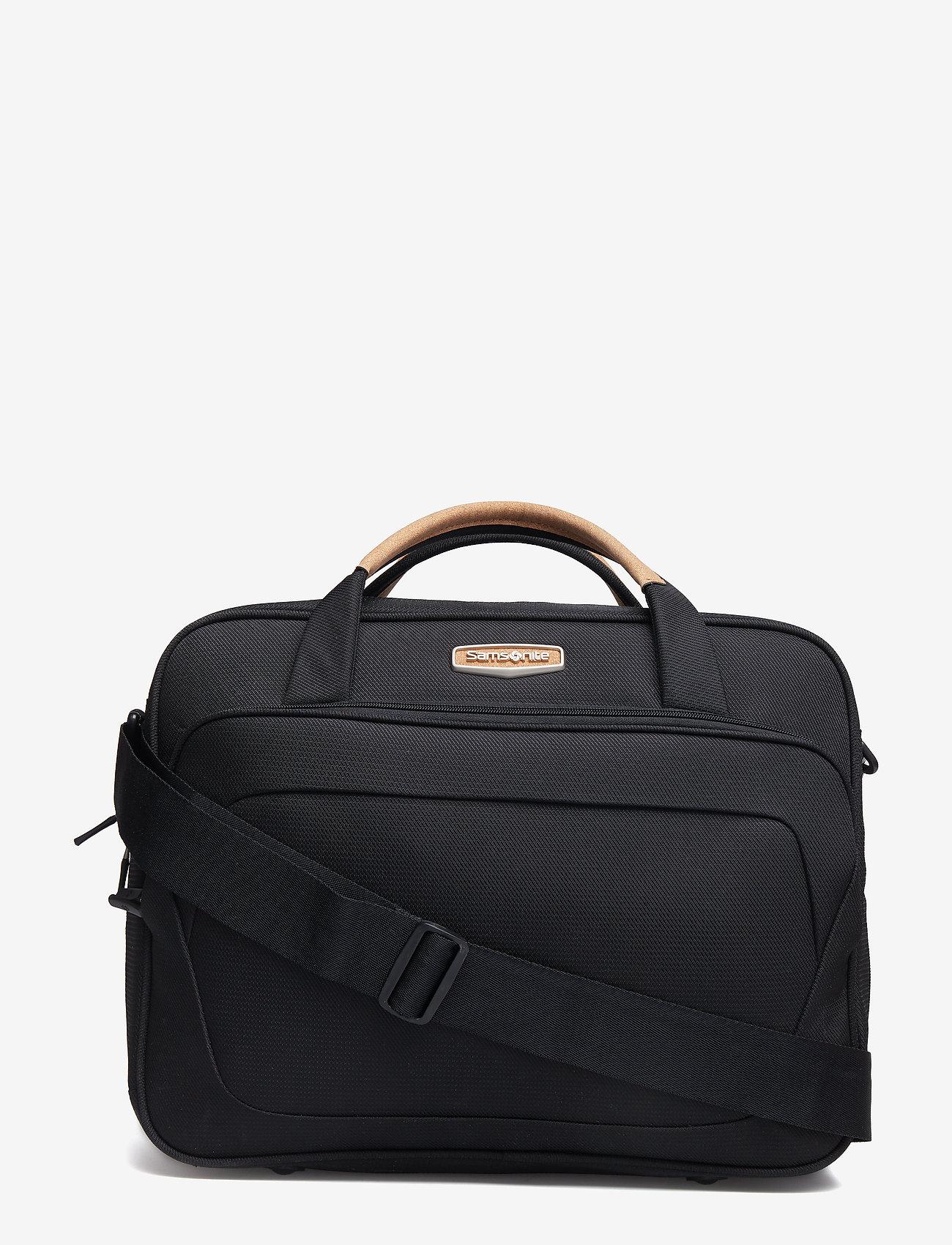 Samsonite - Spark SNG ECO Shoulder Bag - tassen - eco black - 0