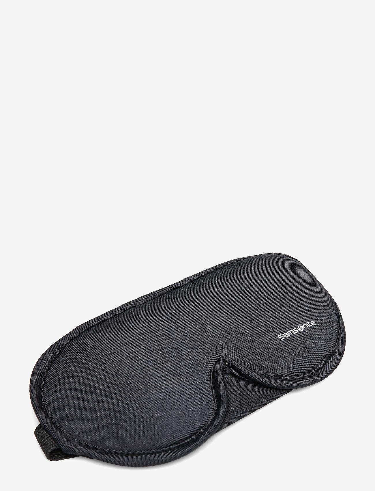 Samsonite - Comfort Travelling Eye Mask And Earplugs - reisartikelen - black - 0