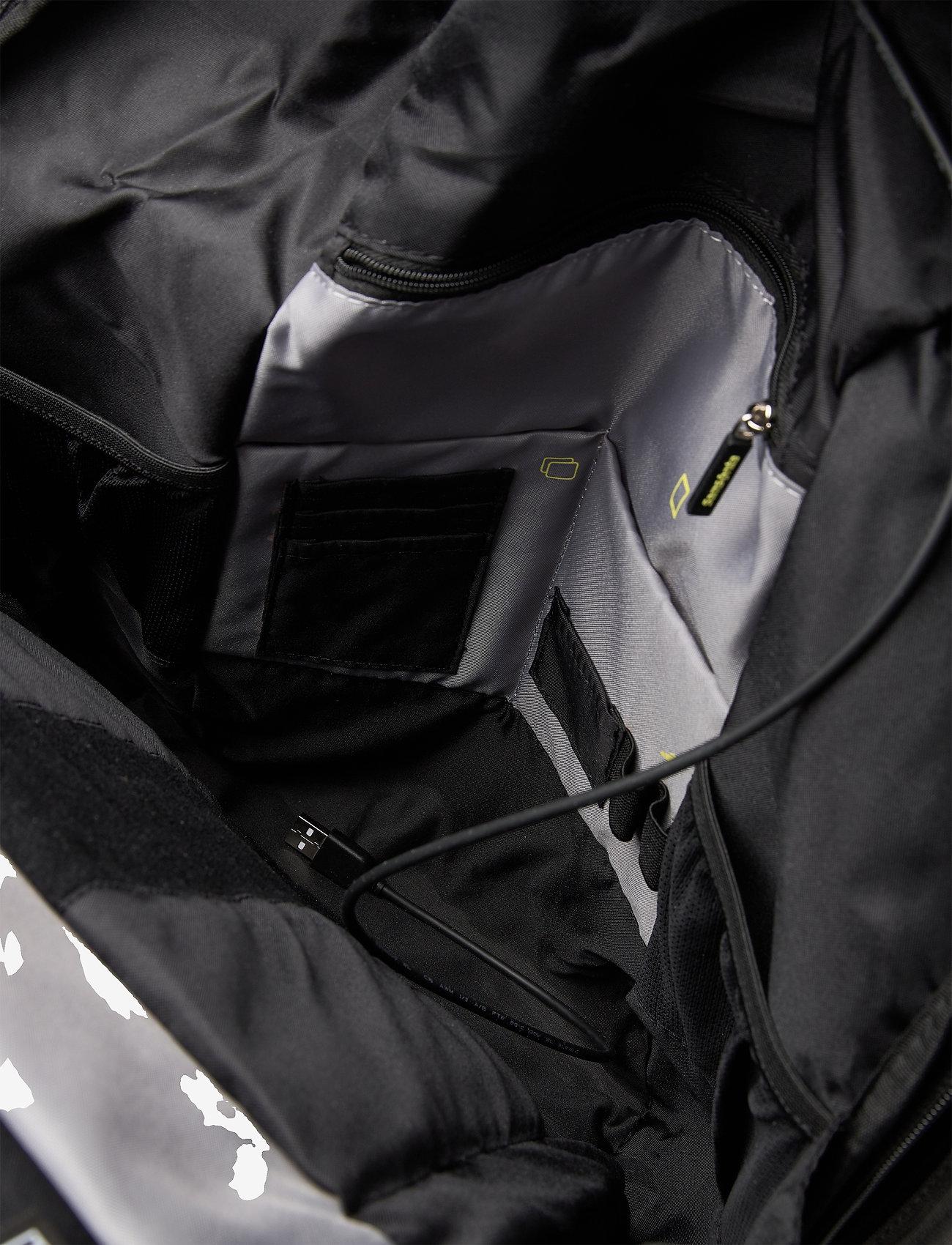 "Samsonite - Securipak Datorryggsäck 15.6"" - bags - grey - 3"