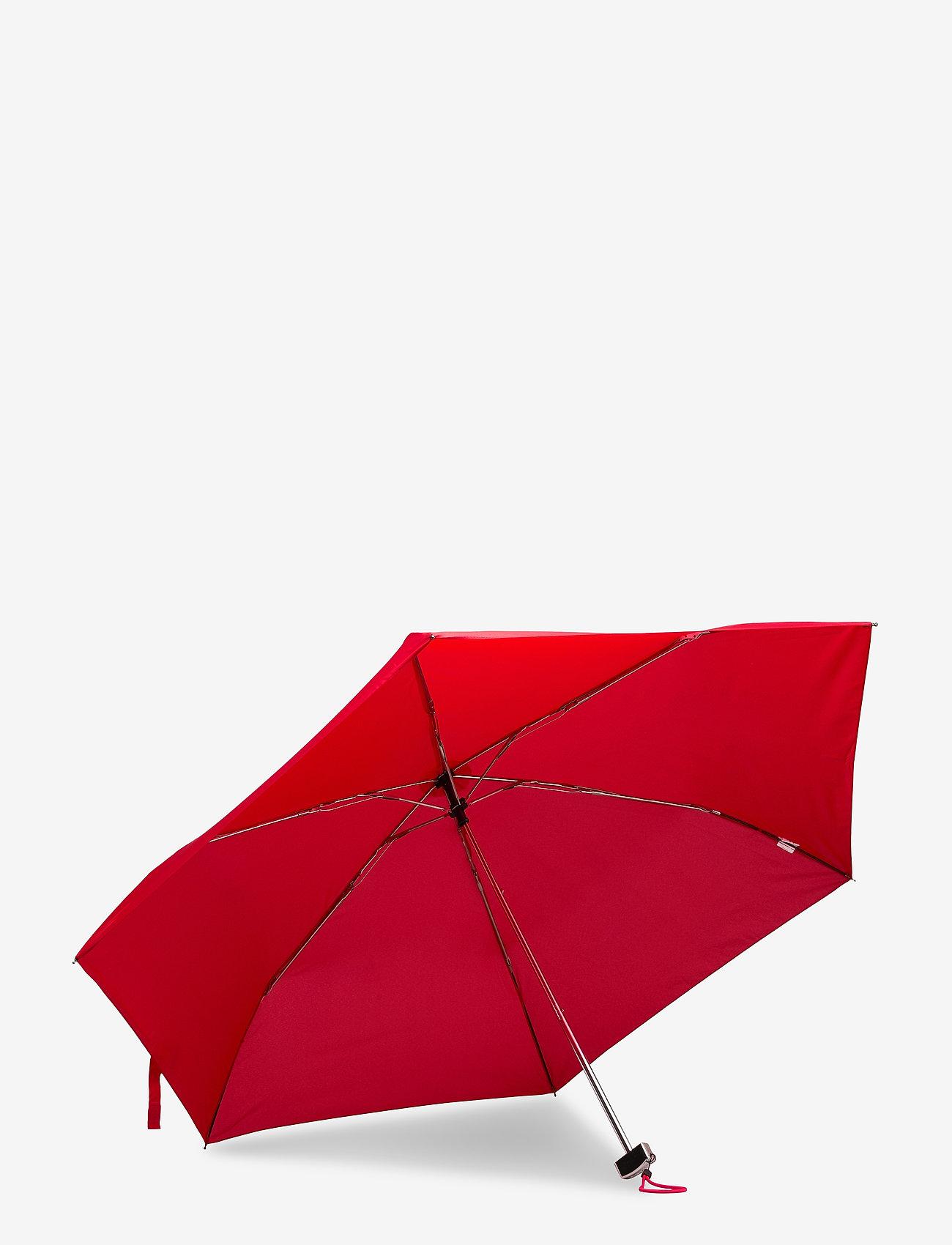 Samsonite - RAIN PRO-3 SECT.ULTRA MINI FLAT - red - 1