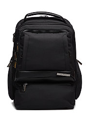"Check Mate Laptop Backpack 15.6"" Double - BLACK"