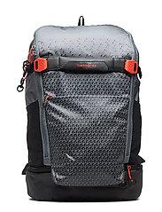 Hexa-Packs Laptop Backpack - GREY PRINT