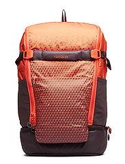 Hexa-Packs Laptop Backpack - ORANGE PRINT