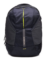 4Mation Laptop Backpack M - MIDNIGHT BLUE/YELLOW