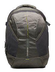 4Mation Laptop Backpack M - OLIVE/YELLOW
