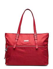 Karissa Shopping Bag M - FORMULA RED