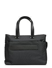 "4a36a07c1c220 Zalia Shopping Bag 15.6"" (Black) (£92.95) - Samsonite - | Boozt.com"