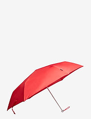 Samsonite - Alu Drop S 3 Sect. Manual Flat - paraplyer - tomato - 0