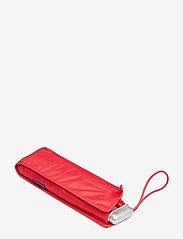 Samsonite - Alu Drop S 3 Sect. Manual Flat - paraplyer - tomato - 4
