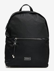 """Karissa Biz Round Backpack 14.1"""" - BLACK"""