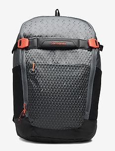 Hexa Packs Latptop Backpack S Day - GREY PRINT