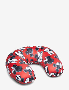 Nackkudde Travel Pillow - MICKEY/MINNIE RED