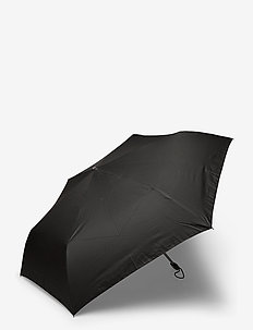 RAIN PRO-3 SECT.MANUAL FLAT - paraplyer - black