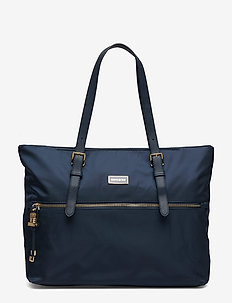 Karissa Shopping Bag M - shoppers - dark navy