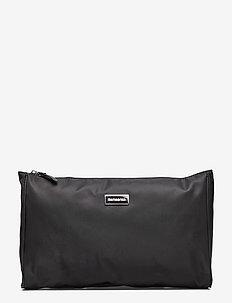 Karissa Cosmetic Pouch - BLACK