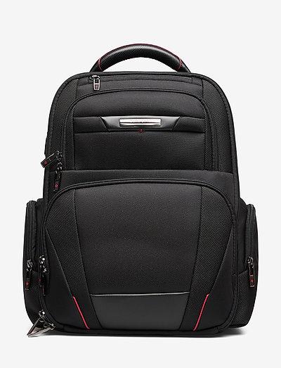 Pro DLX Laptop Backpack 3V 15,6 - reput - black