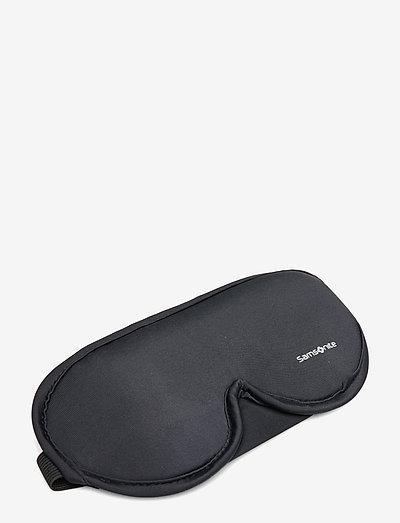 Comfort Travelling Eye Mask And Earplugs - matkalaukut & tarvikkeet - black
