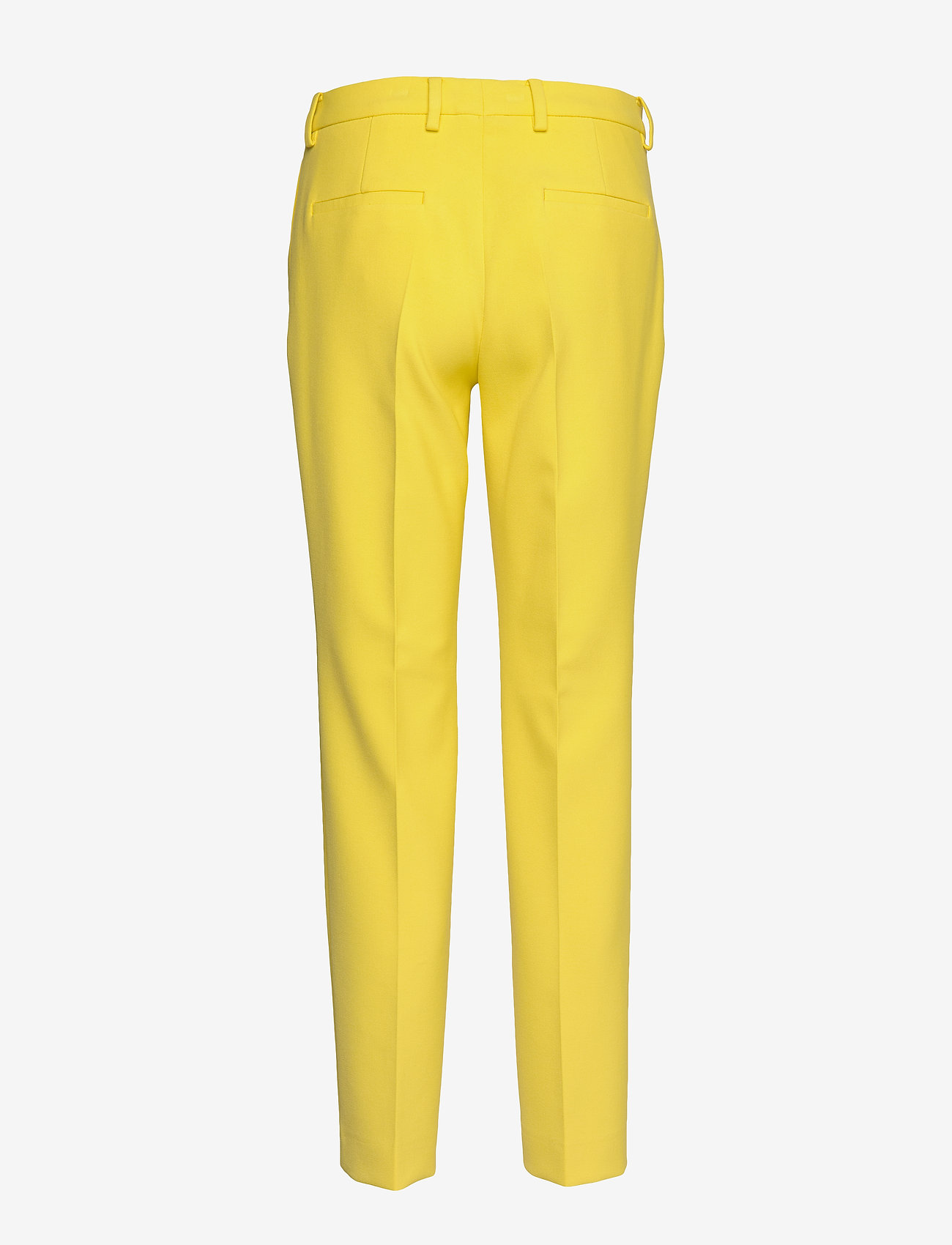 SAND - 3596 - Dori A - slim fit broeken - pale yellow - 1