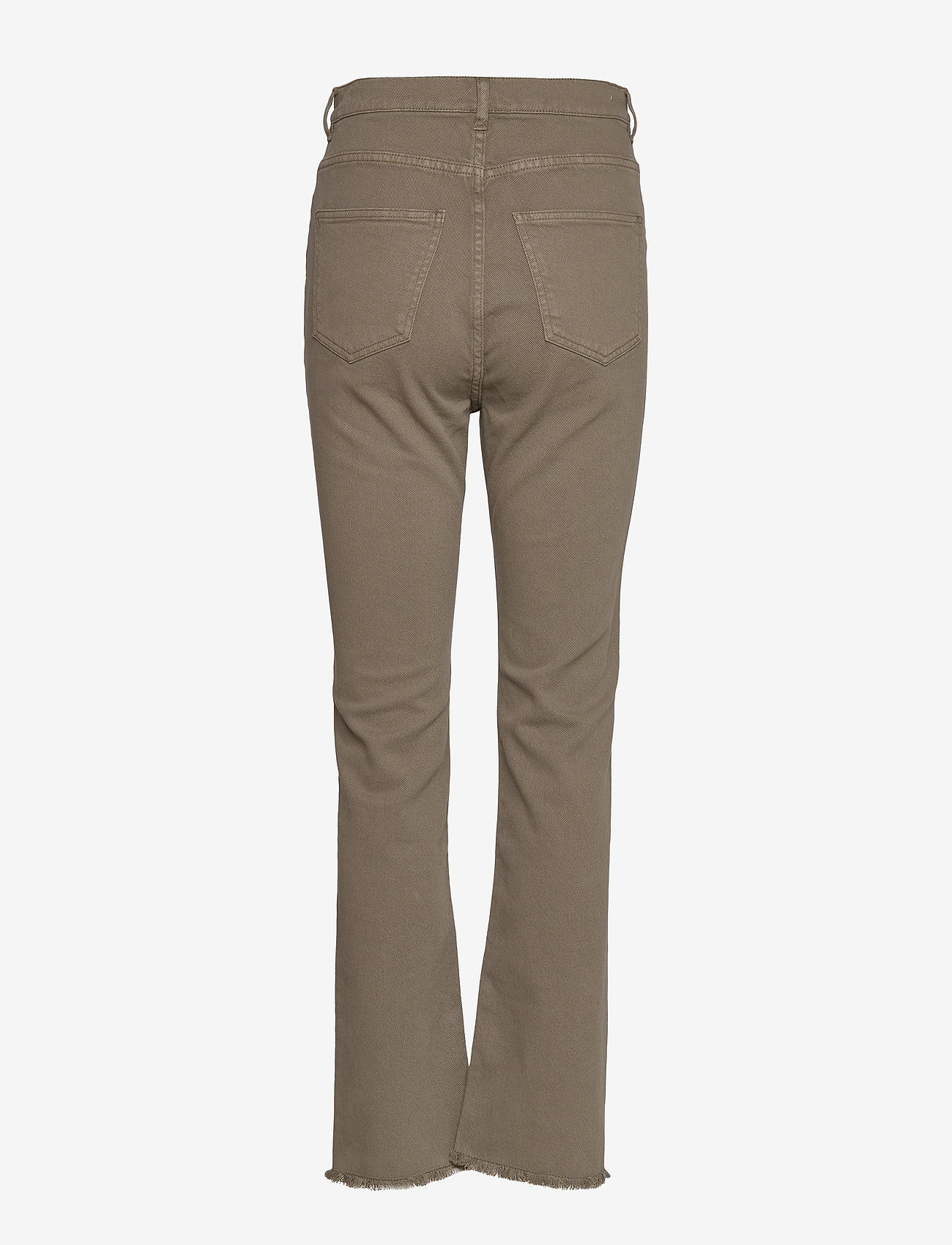 SAND - 0639 - Kathy Cropped - boot cut jeans - olive/khaki - 1