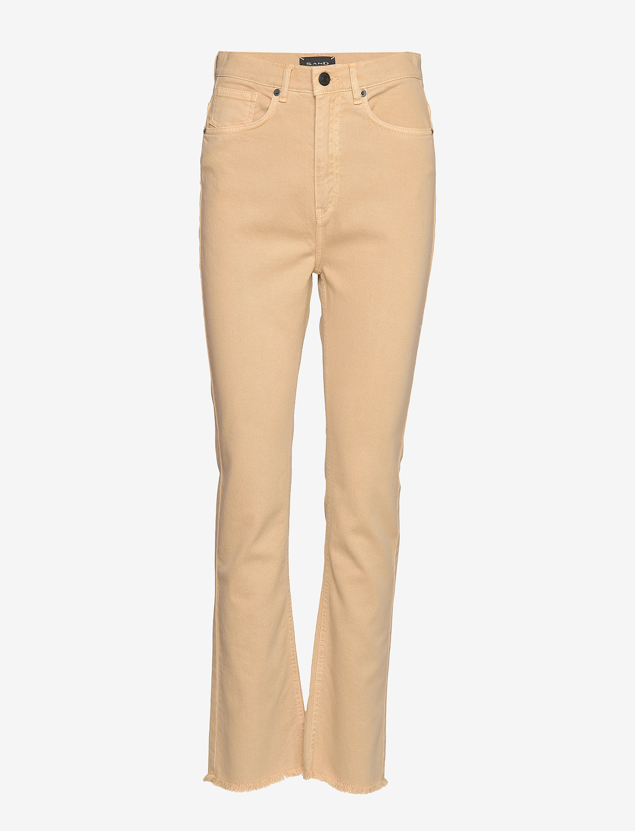 SAND - 0639 - Kathy Cropped - boot cut jeans - sand - 0