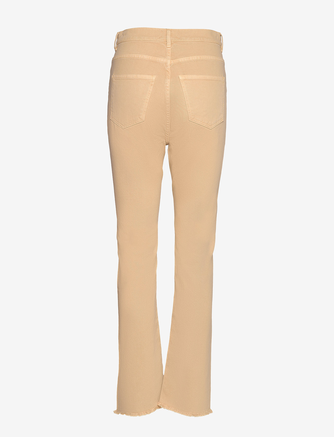 SAND - 0639 - Kathy Cropped - boot cut jeans - sand - 1