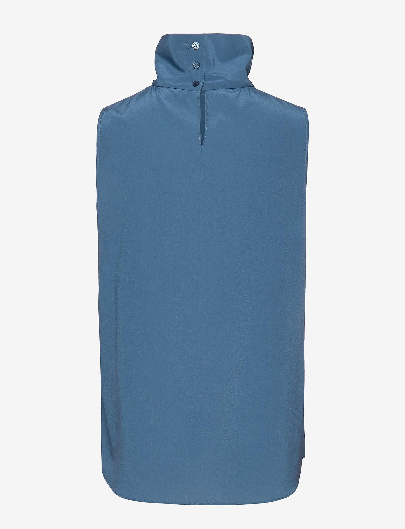 SAND CDC Stretch - Prosa Top - Bluser & Skjorter MEDIUM BLUE - Dameklær Spesialtilbud