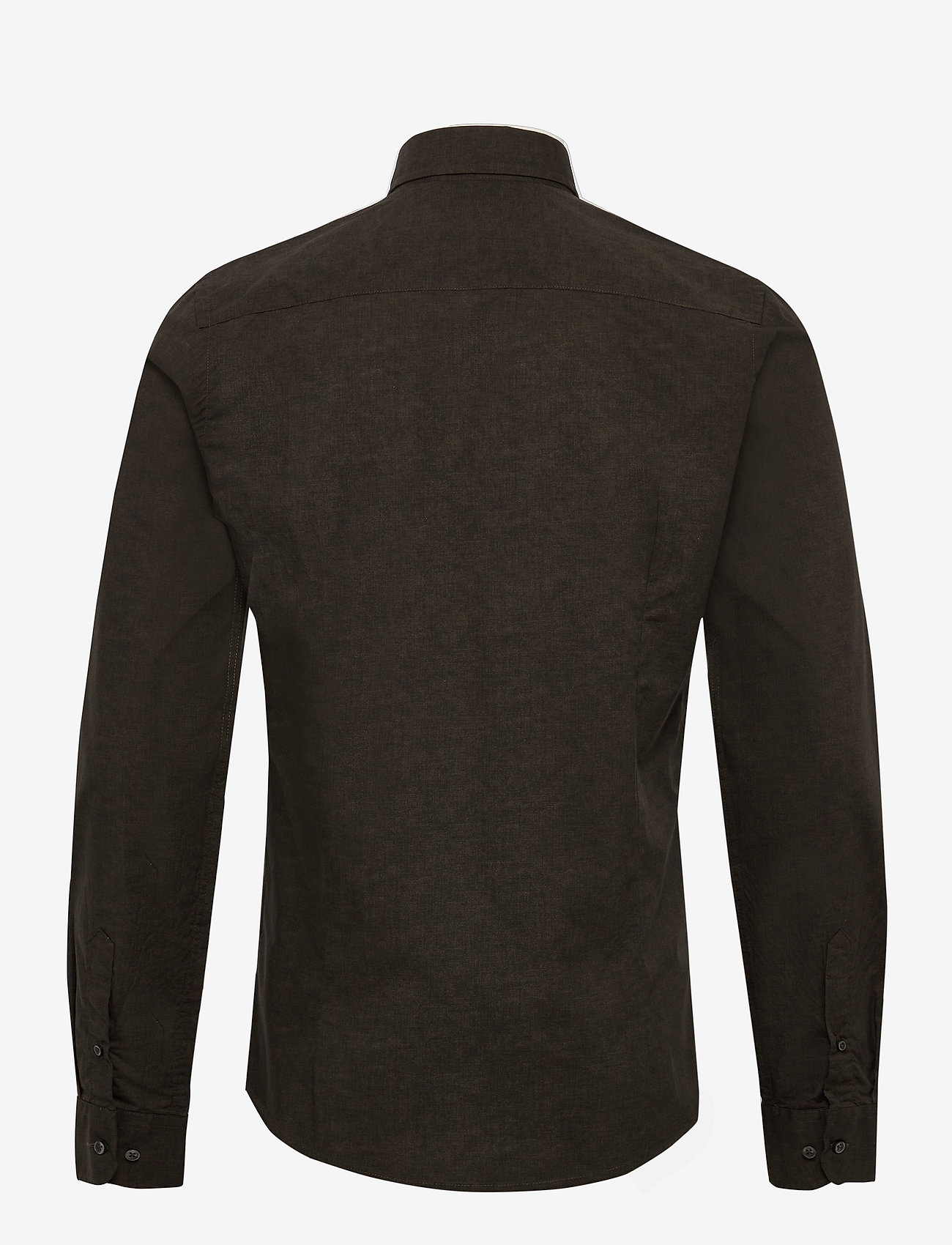 SAND - 8669 - Iver 2 Soft - basic skjortor - olive/khaki - 1