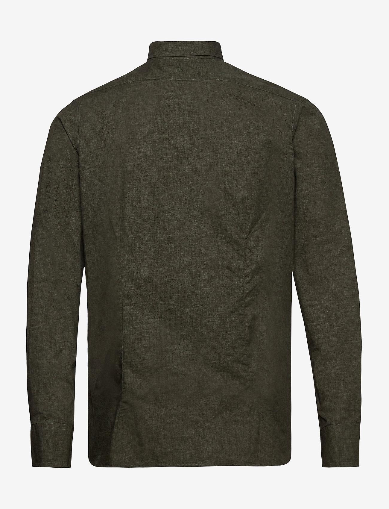 SAND - 8669 - State N 2 Soft - basic skjorter - green - 1