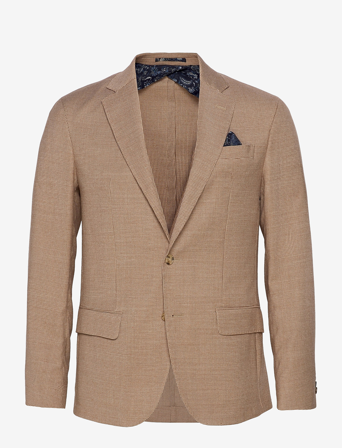 SAND - 6263 - Star Easy Normal - single breasted blazers - light camel - 0