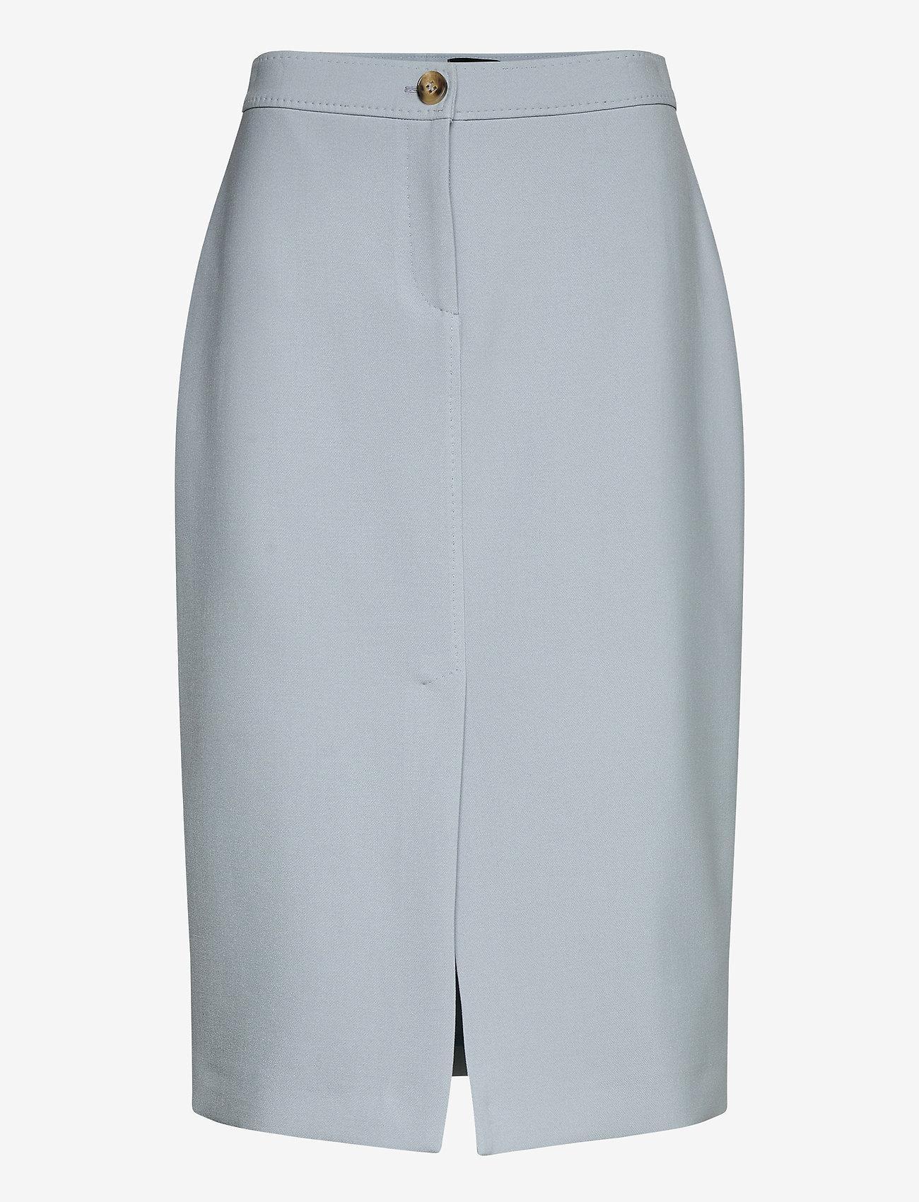 SAND - 3596 - Aidith - midi kjolar - light blue - 0