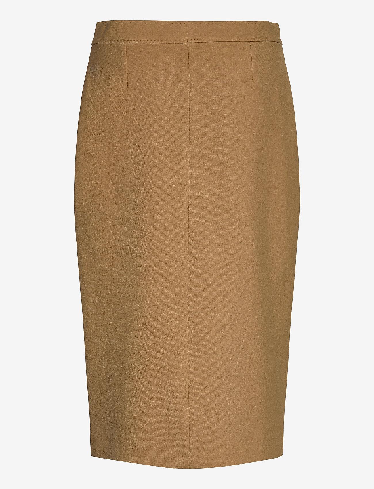 SAND - 3596 - Aidith - midi kjolar - light camel - 1