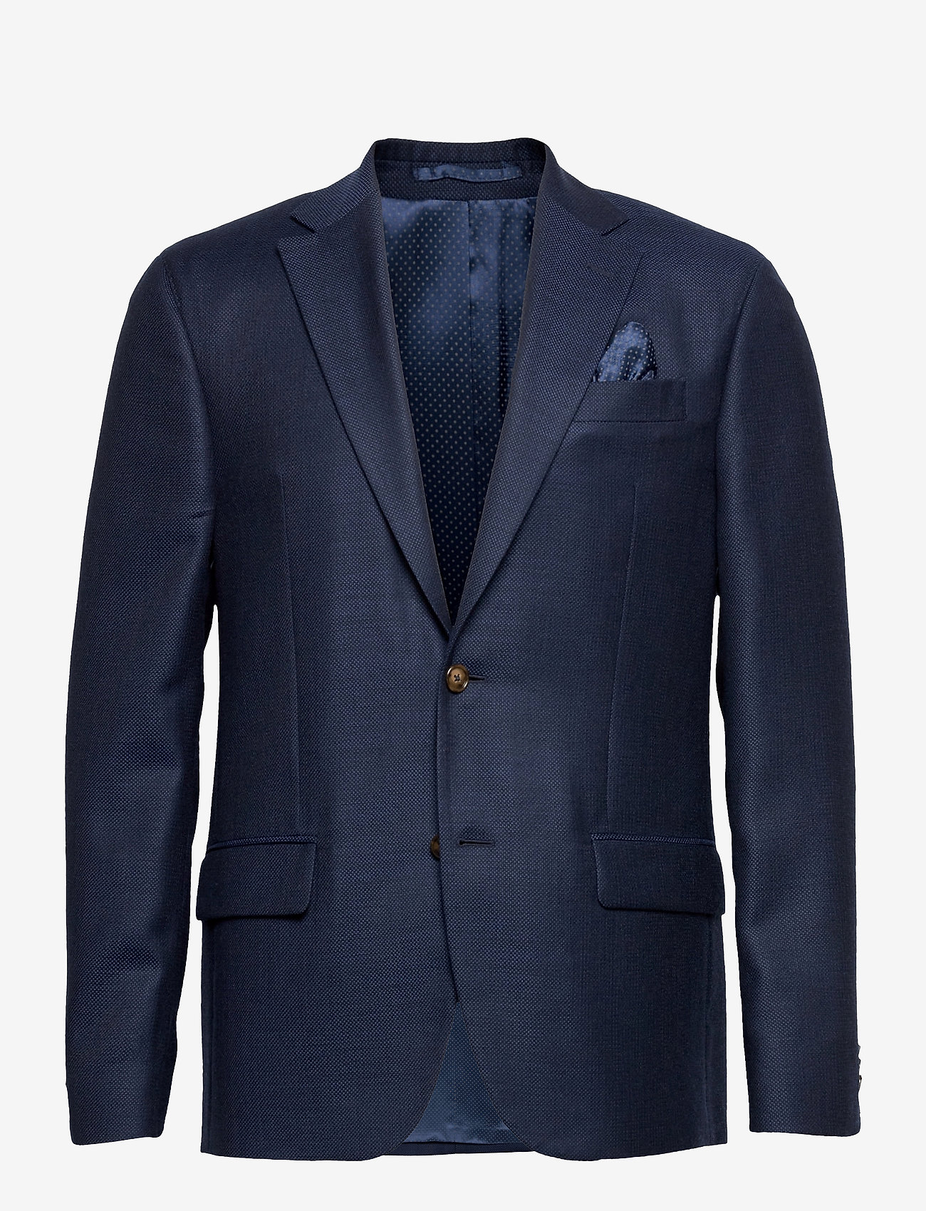 SAND - 6729 - Star Napoli Normal - single breasted blazers - medium blue - 0