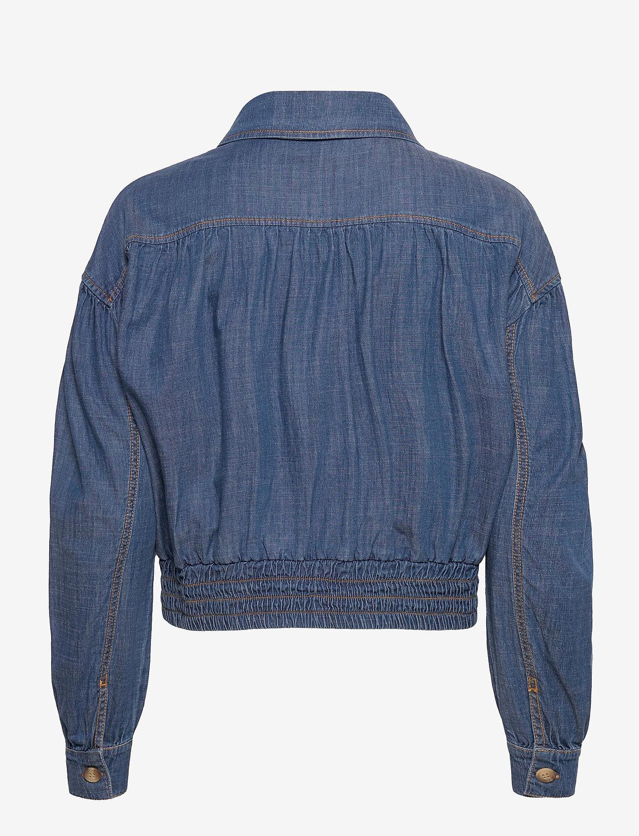 SAND - R/Denim - Margot - blouses met lange mouwen - blue - 1