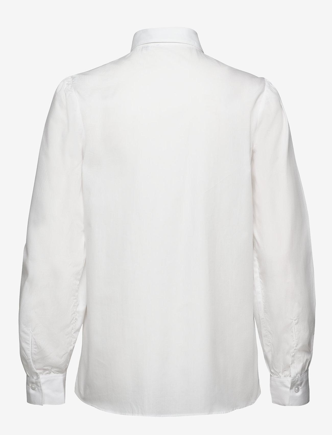 SAND - 8704 - Loreto - långärmade skjortor - optical white - 1