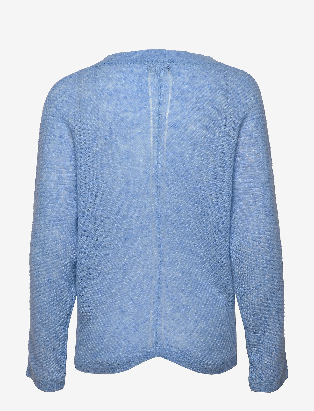 SAND - 5194 - Silje Cardigan - cardigans - light blue - 1