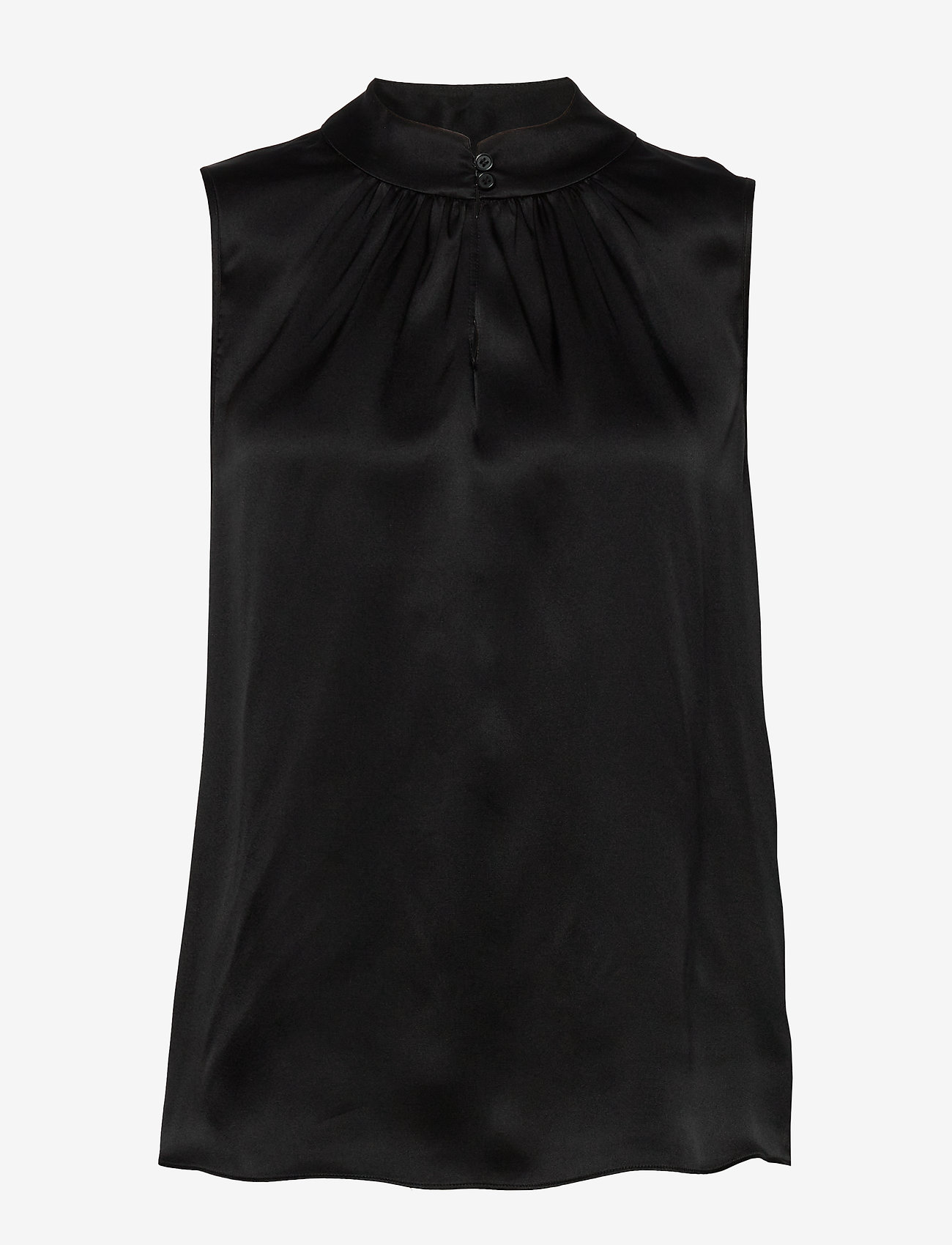 SAND - Double Silk - Prosi Top - blouses sans manches - black - 0