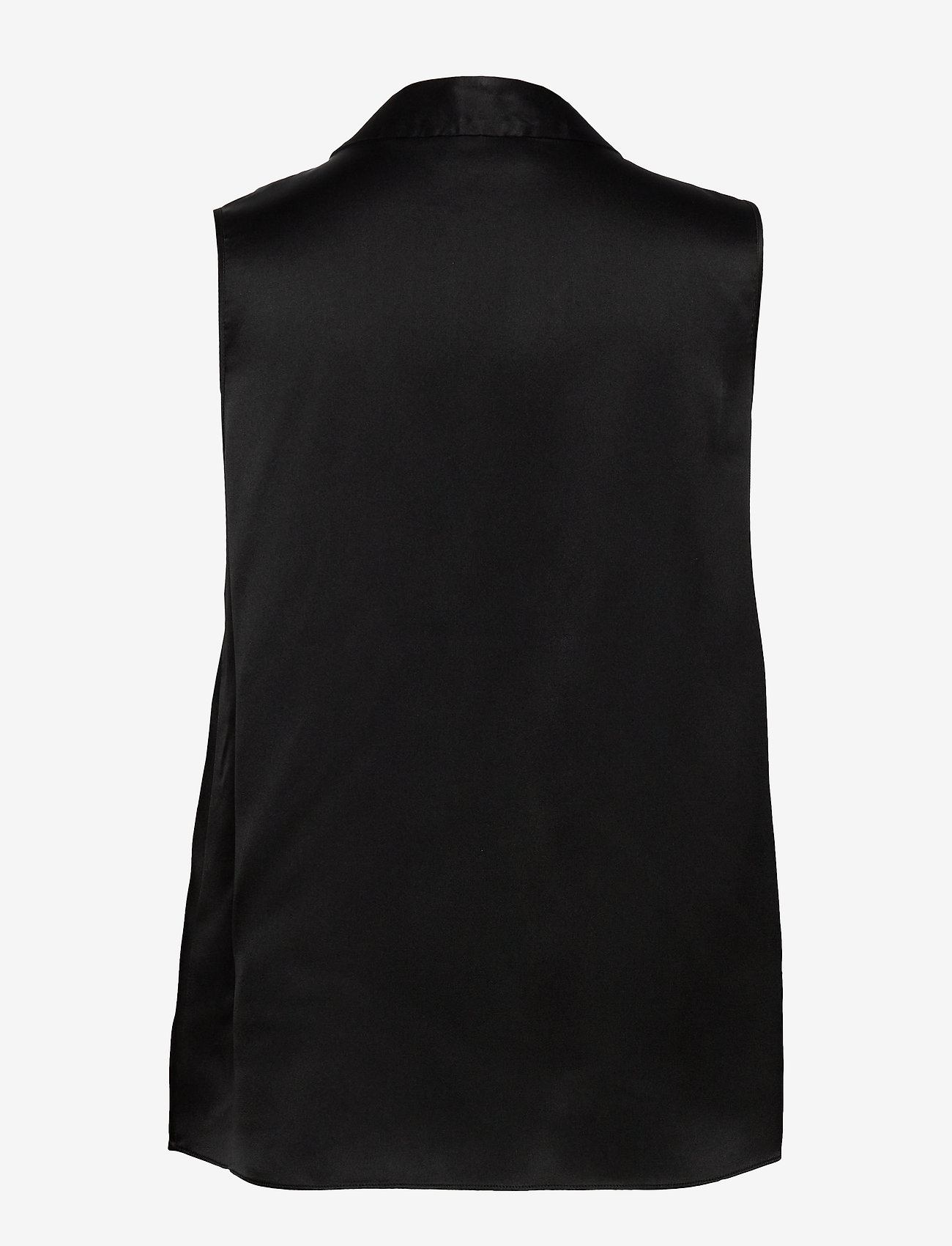SAND - Double Silk - Prosi Top - blouses sans manches - black - 1
