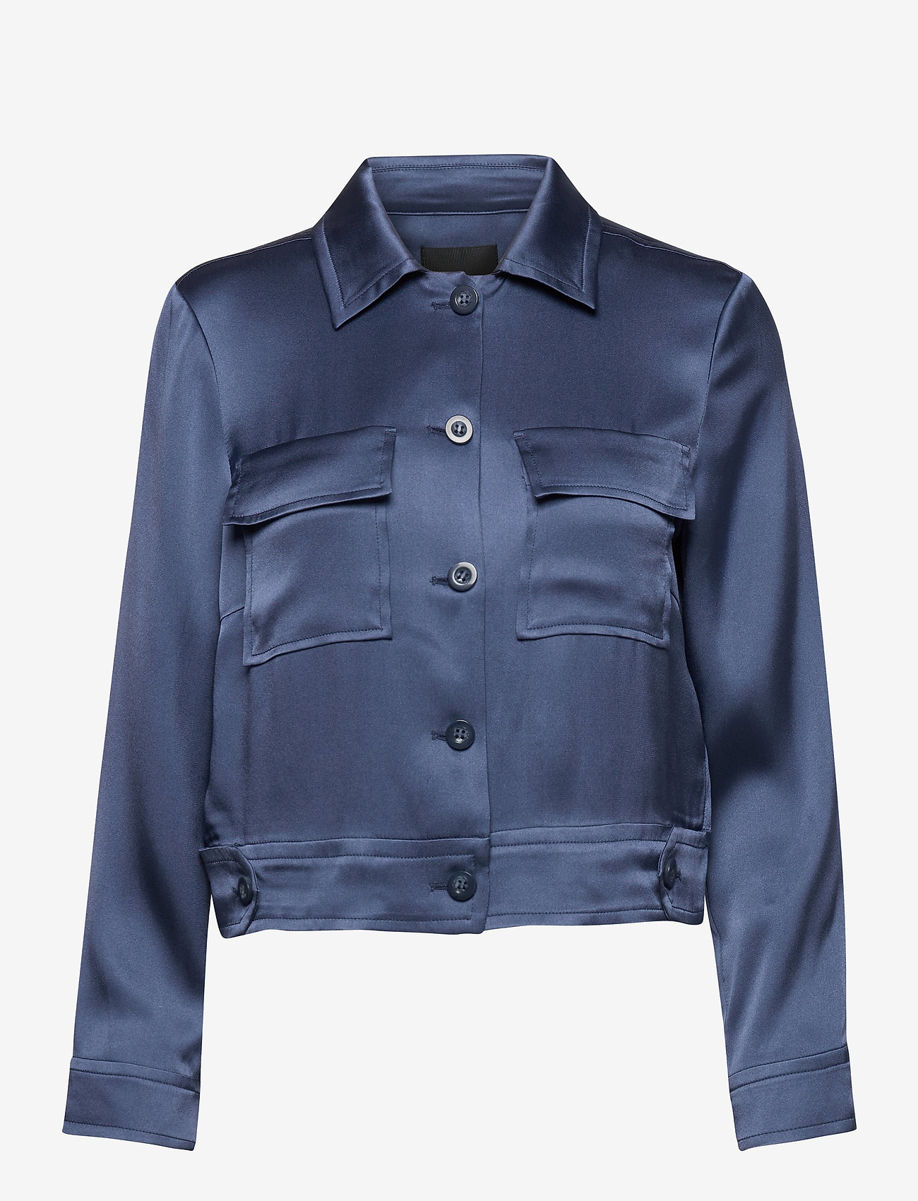 SAND - Double Silk - Kaela - lichte jassen - medium blue - 0