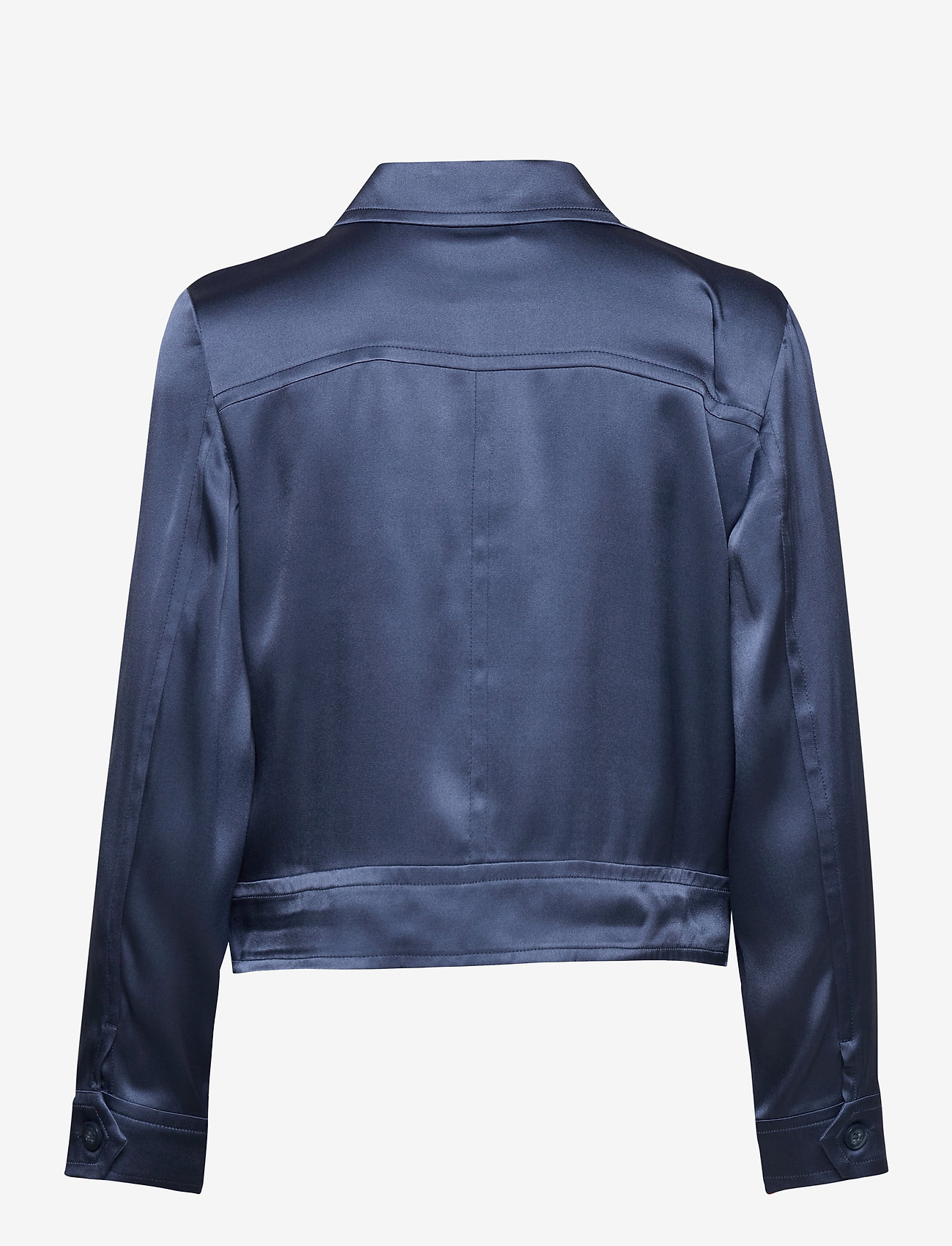 SAND - Double Silk - Kaela - lichte jassen - medium blue - 1