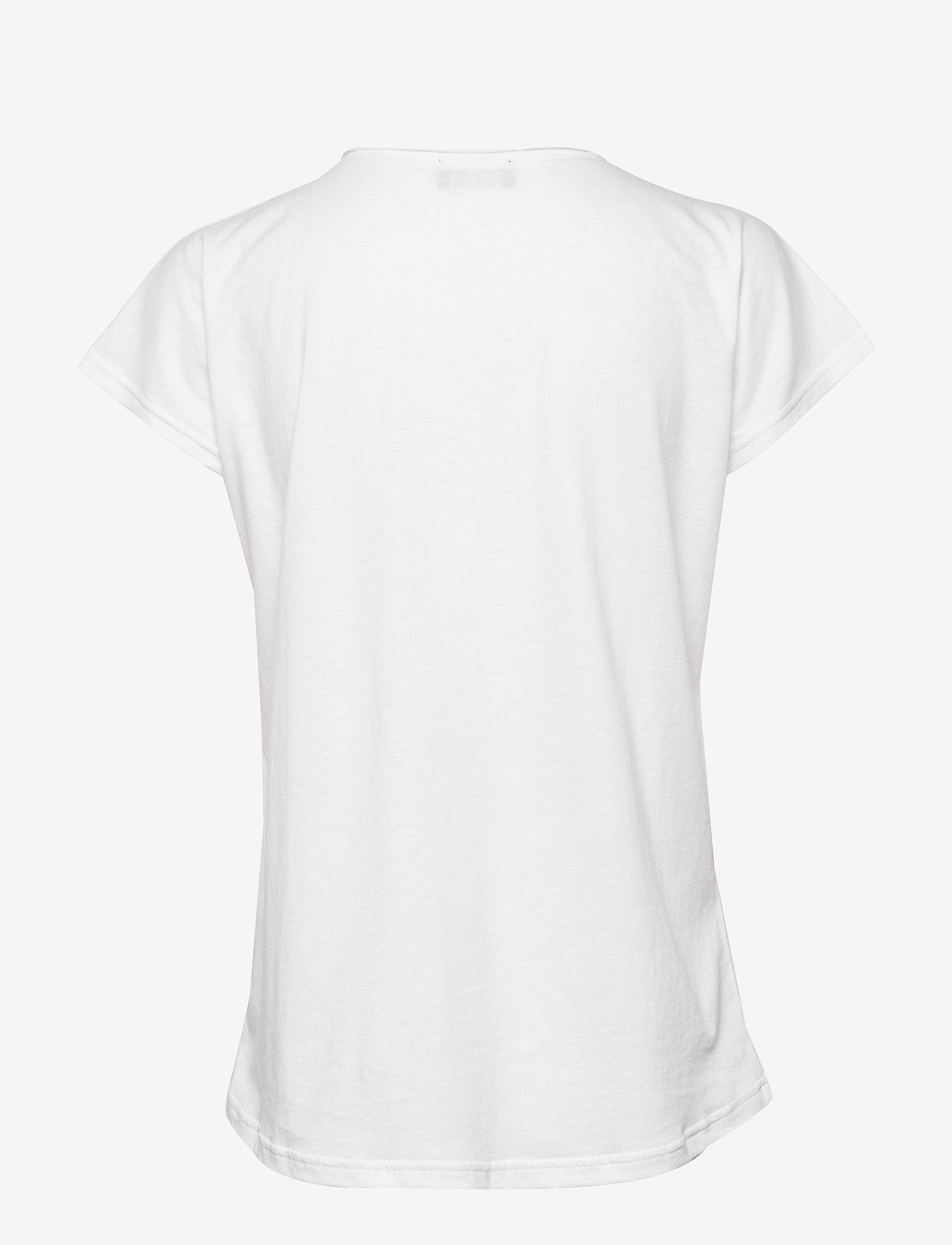 SAND - 4017 - Abella - t-shirts - optical white - 1